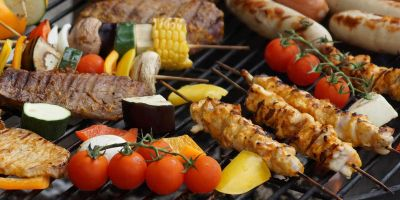 Grillbuffet – grill-on-fire I